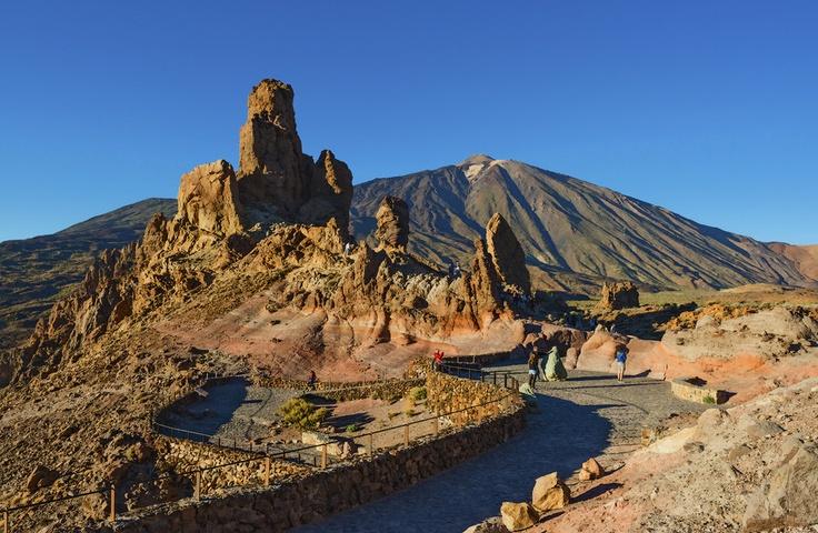 lunar landscape of Tenerife