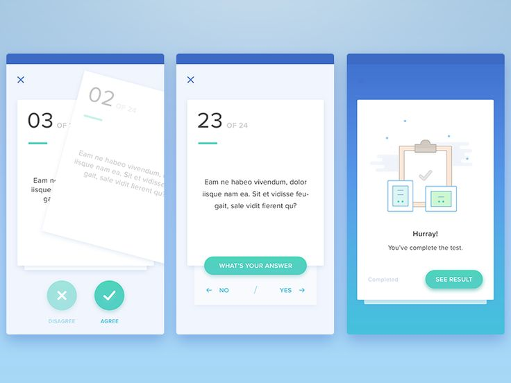 [answering question] we stil figuring 'how to answer' style with this question card type. the goal is to make user easier to answer. from tinder style, basic button, etc etc. open for feedback an...