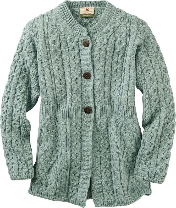 Vermont Country Store- an updated cardigan style in a flattering color! :}pjb