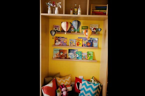 Styling for a pre-school bedroom  From The Block 2012.  Challenge House - Sophie and Dale's Children's Room