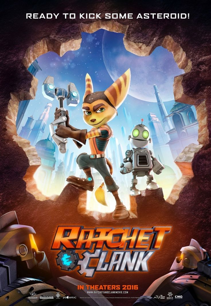 Ratchet & Clank The Movie in Theaters on April 29th, 2016! #RatchetClank #Movie #ad
