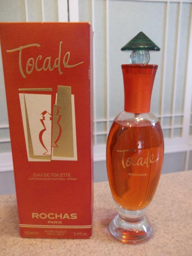 Rare Tocade Eau de Toilette Spray Perfume by Rochas HUGE 3.4 oz. NEW IN BOX