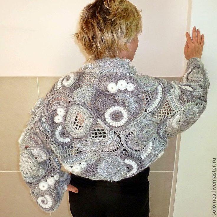 Irish crochet &: Фриформ от Соломеи.
