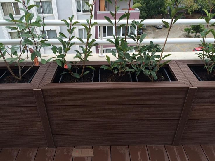 96 besten wpc planter pot flower box suppliers bilder for Garden decking for sale