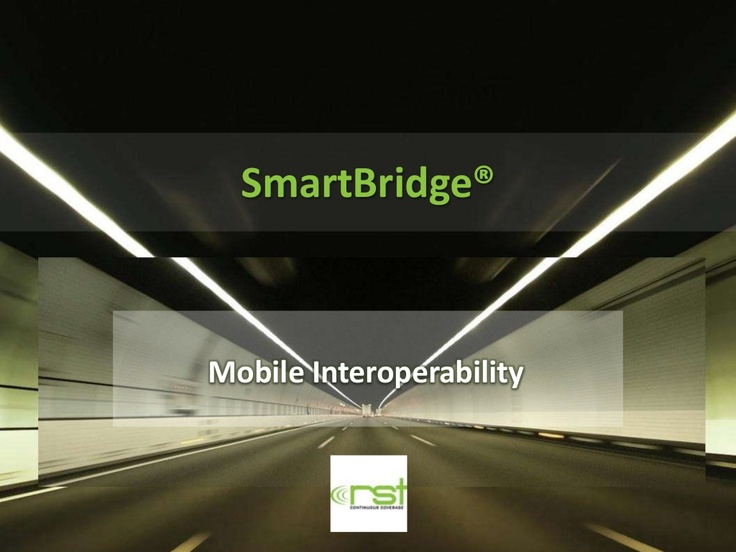 Smartbridge by Radio Systems Technologies via Slideshare - http://www.slideshare.net/kunoichiau/smartbridge