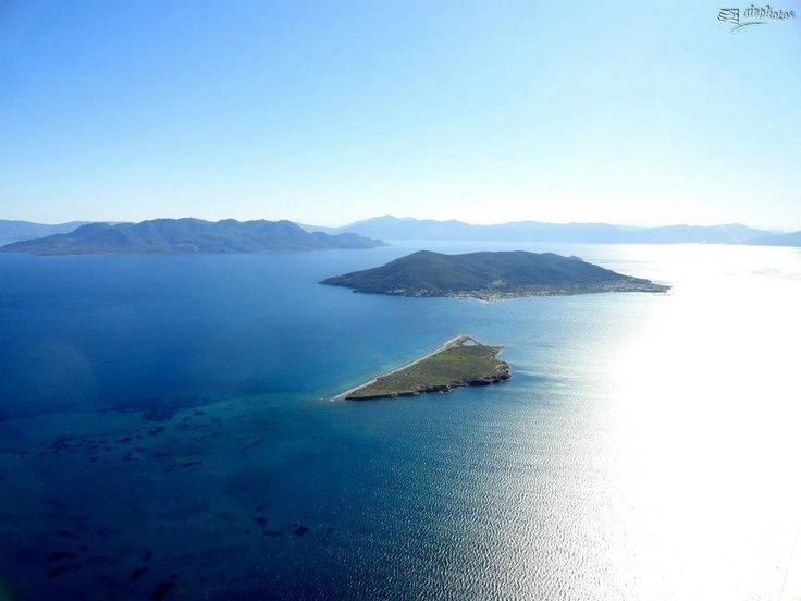 Angistri and little METOPI Island