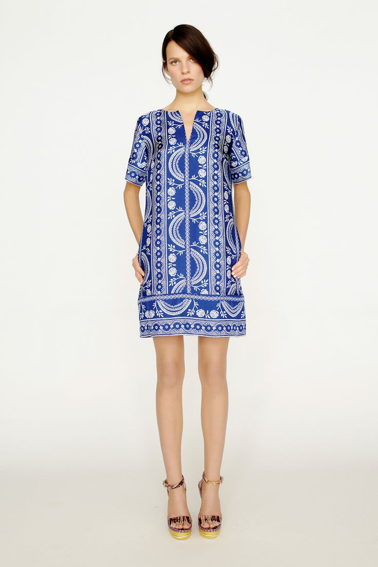 collette by Collette Dinnigan Kaftan Style Printed Dress