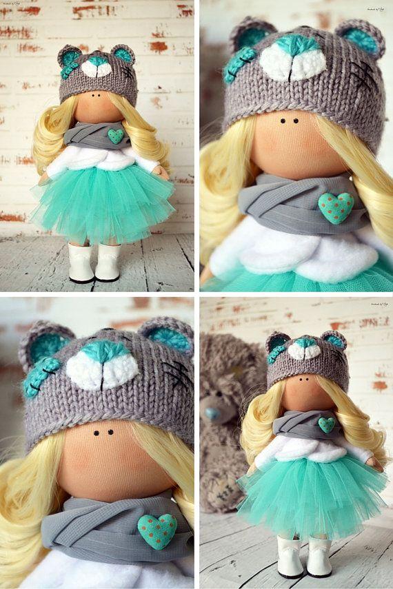 Fabric doll Interior doll Baby doll Art doll от AnnKirillartPlace