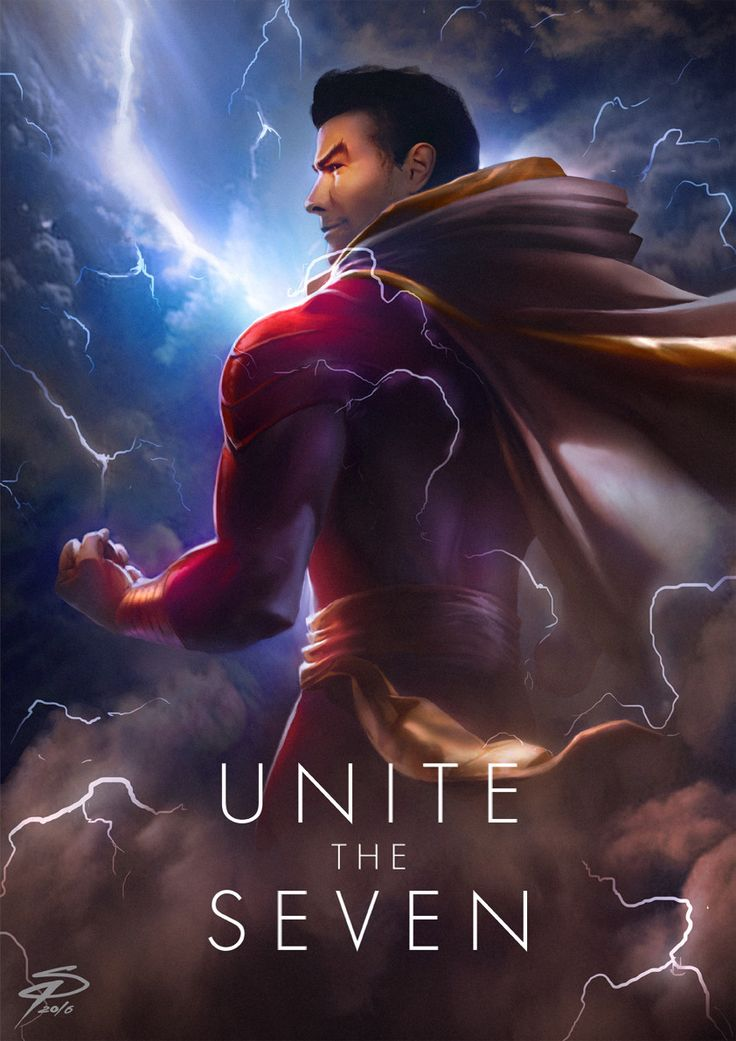 Justice League: Unite the Seven - Created by Simon Pape