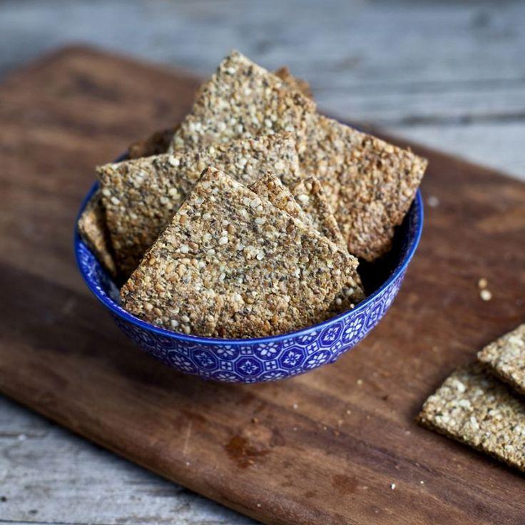 Voici une recette facile à réaliser qui présente une alternative nutritive et santé aux craquelins du commerce !