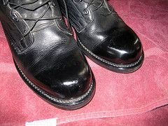 Shine Your Shoes Like A Soldier