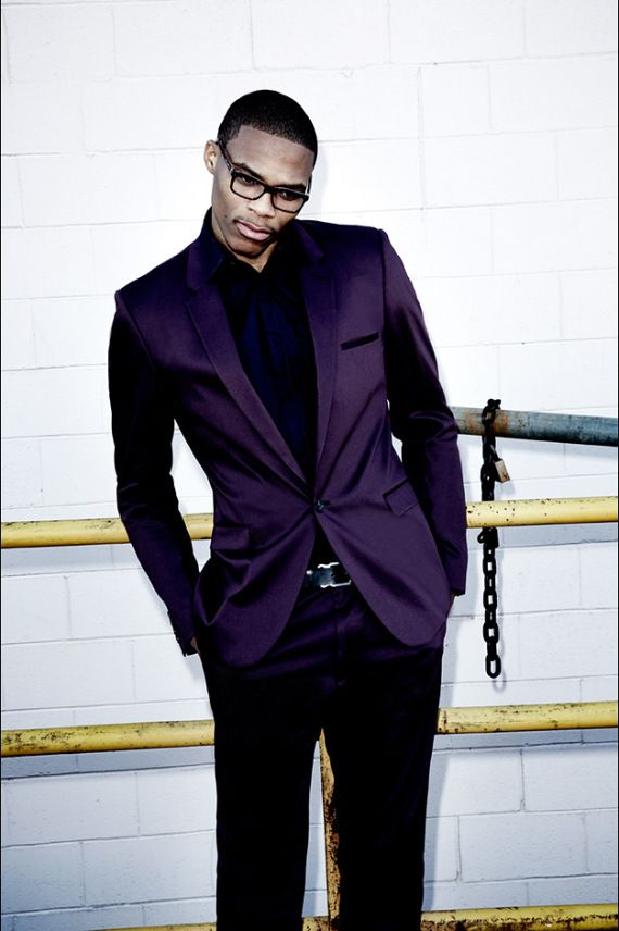 Image of Russell Westbrook for Flaunt Magazine