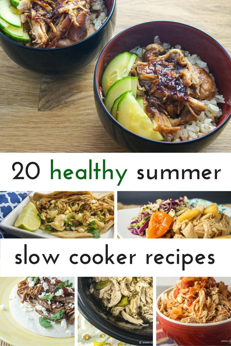 The slow cooker is my secret weapon when it comes to summer cooking! Not only does it mean I can spend all day outside in the sunshine, it also means a delicious meal without ever having to turn on...