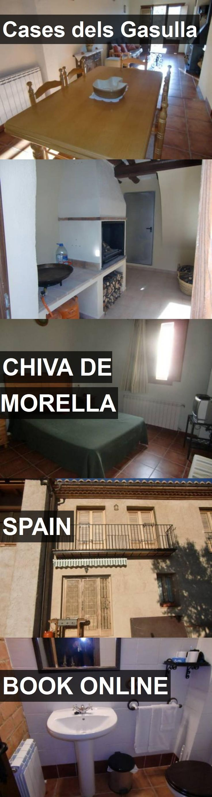 Hotel Cases dels Gasulla in Chiva de Morella, Spain. For more information, photos, reviews and best prices please follow the link. #Spain #ChivadeMorella #CasesdelsGasulla #hotel #travel #vacation