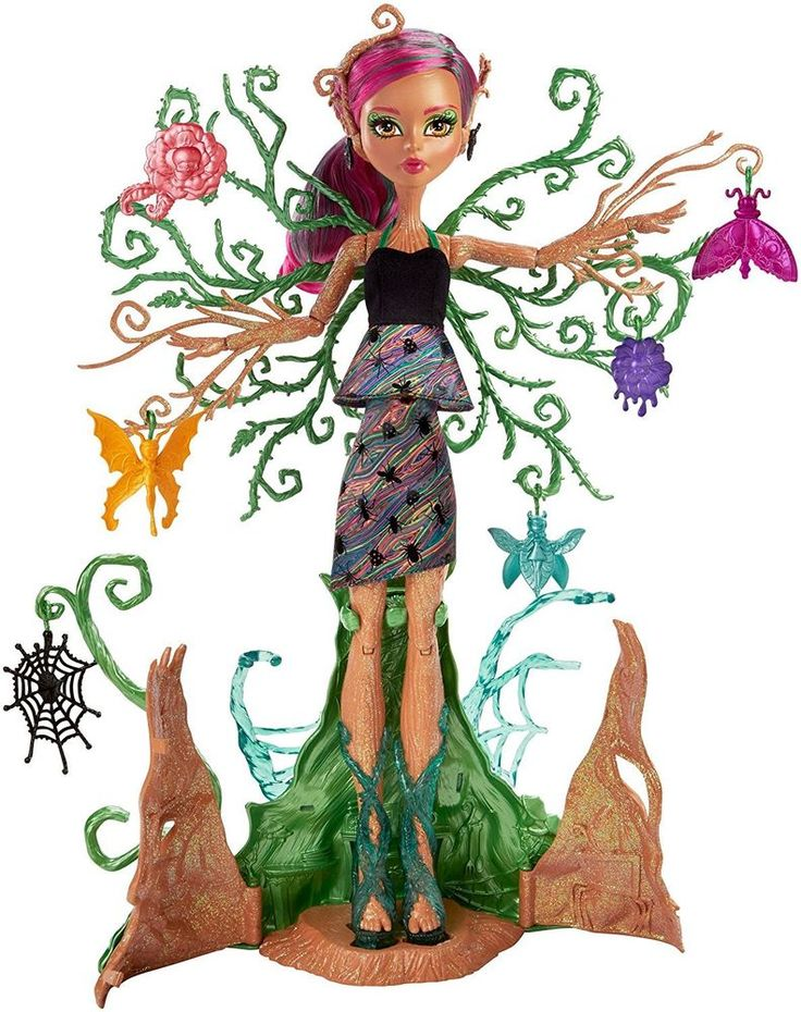 """Monster High Garden Ghouls - Treesa Thornwillow 14.5"""" inch Doll - BRAND NEW #Mattel #DollswithClothingAccessories"""