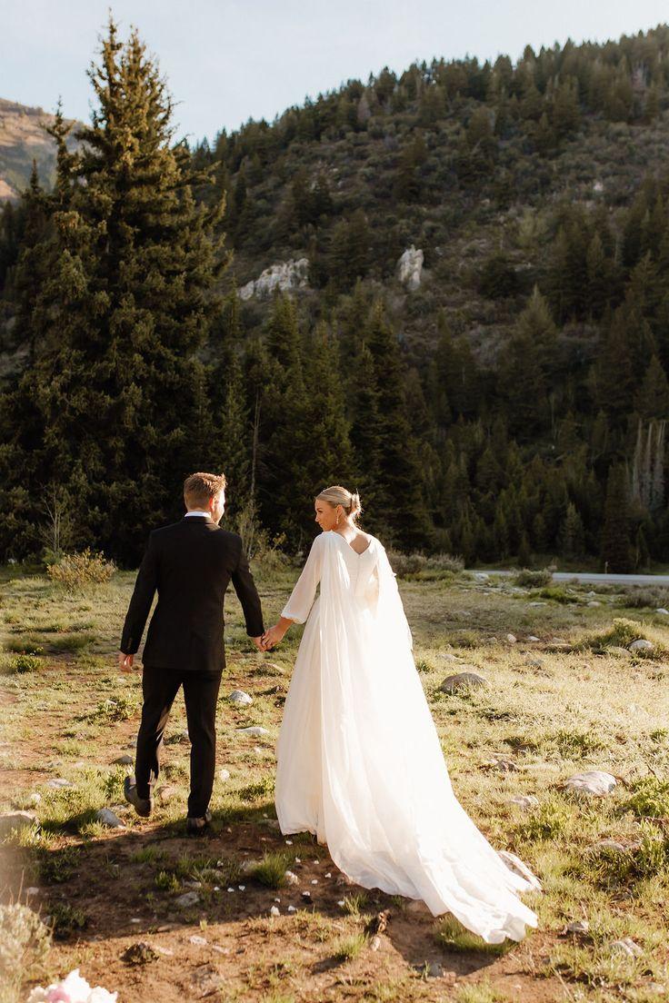 ethereal modest wedding dress   Modest wedding dresses, Utah ...