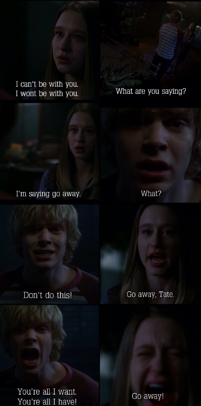 American horror story! Tate Langdon Violet Harmon ahs BEST GHOST LOVE STORY EVER!!!!!!!!!!!!!!!!!!!!!!!!!!!!!