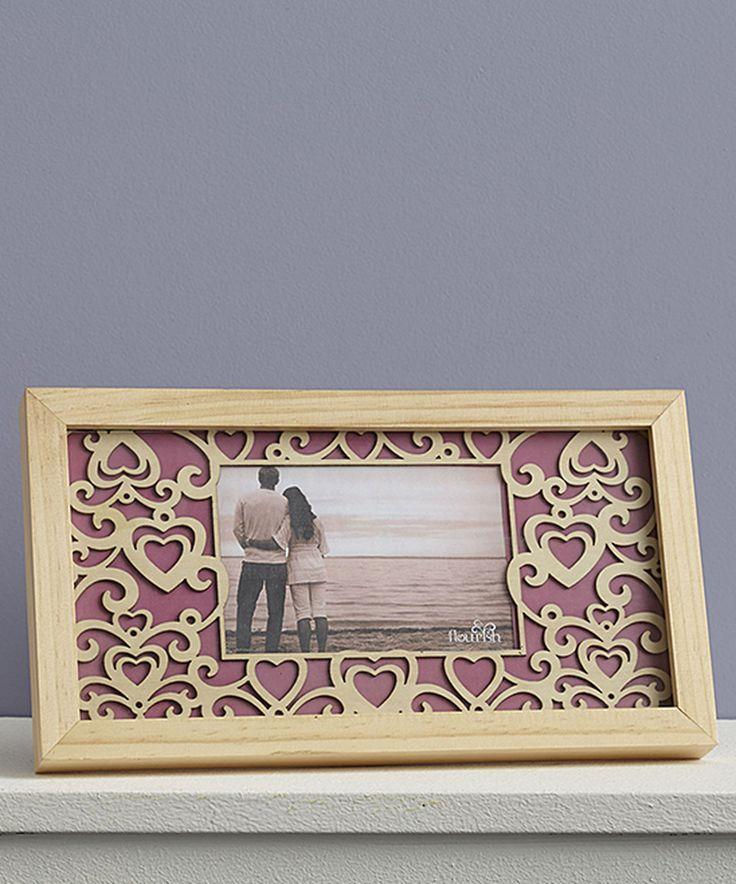 Loving this Flourish Flourish Hearts Frame on #zulily! #zulilyfinds