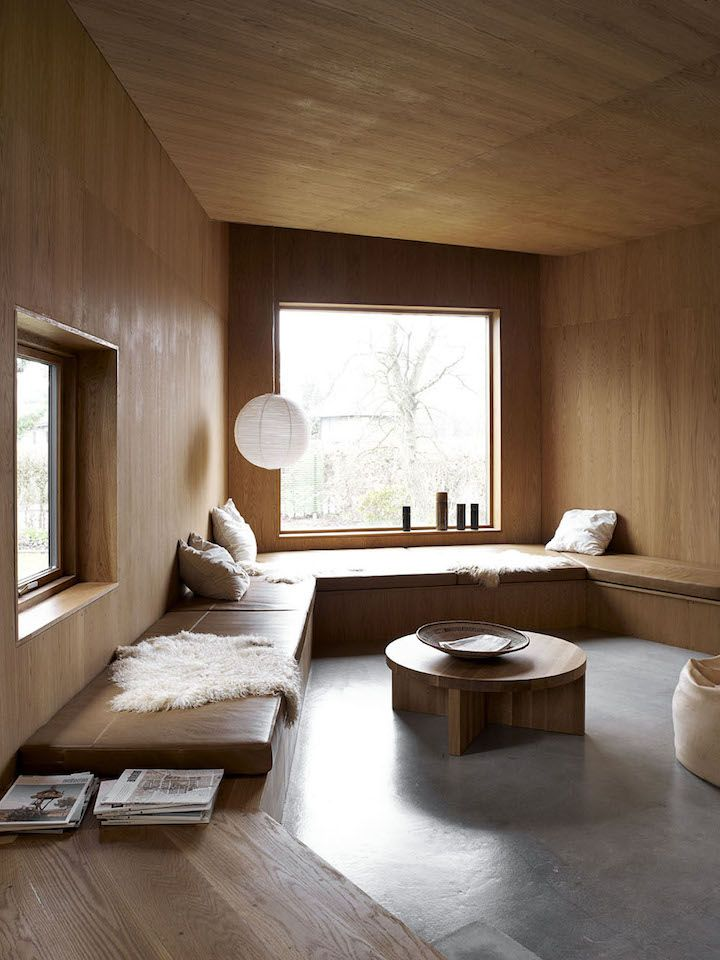 Villa Wienberg in Aarhus, designed by Wienberg Architects and Friis and Moltke images by Mikkel Mortensen