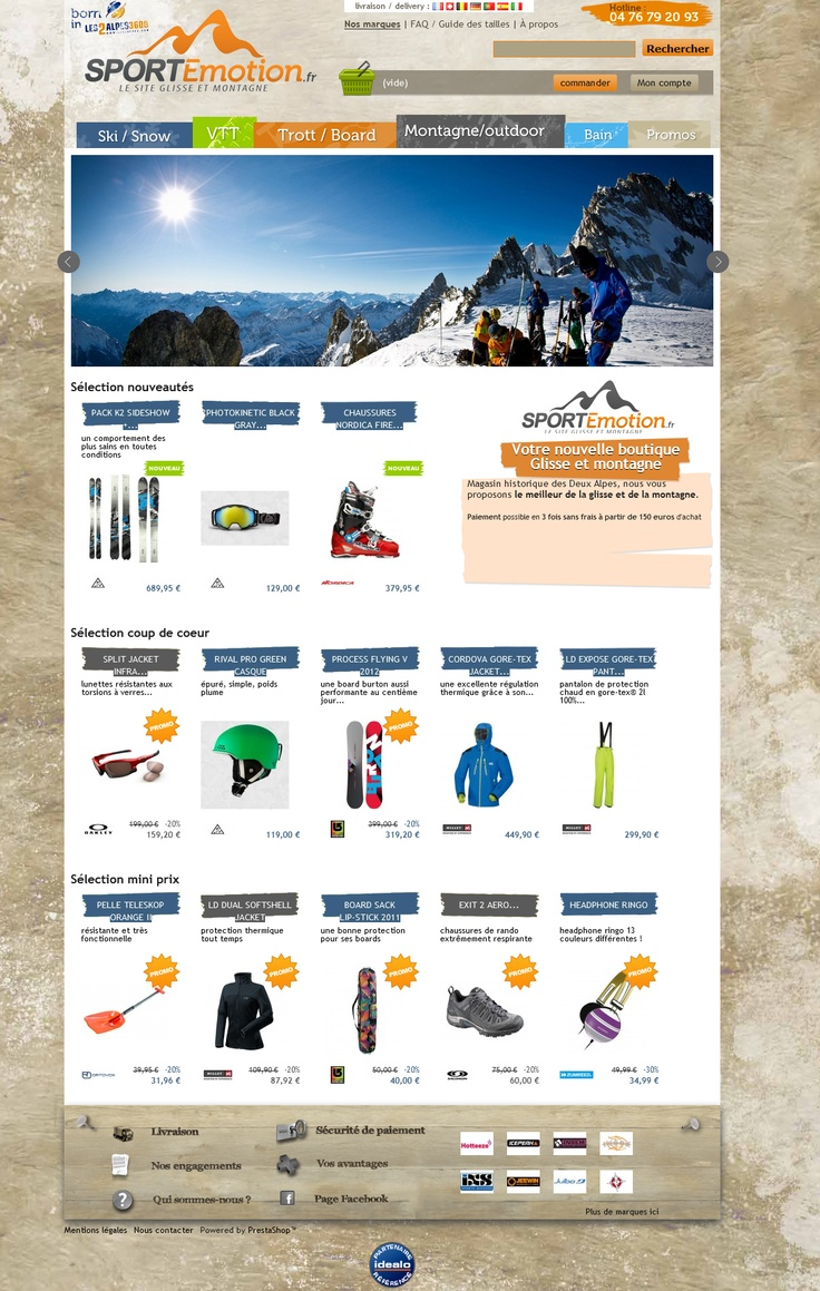 http://www.sportemotion.fr  Home