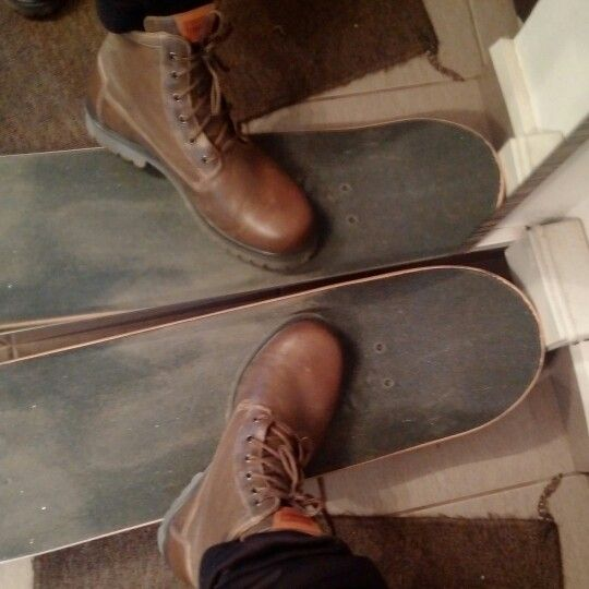 My new Levis boots.