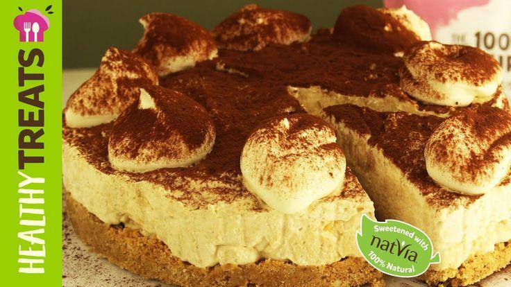 Tiramisu Cheesecake, SF - Natvia's Healthy Treats