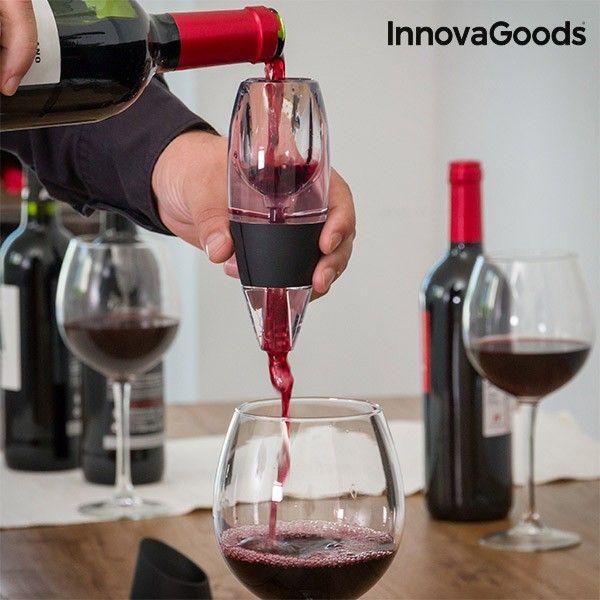 Ha szereted a bort, élvezd ki teljes mértékben az ízét és a jellegzetességeit az InnovaGoods Kitchen Sommelier bordekantálóval!