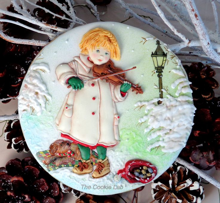 Created by The Cookie Lab - Bolachas Decoradas Artesanais by Marta Torres (Lis Martin inspired)
