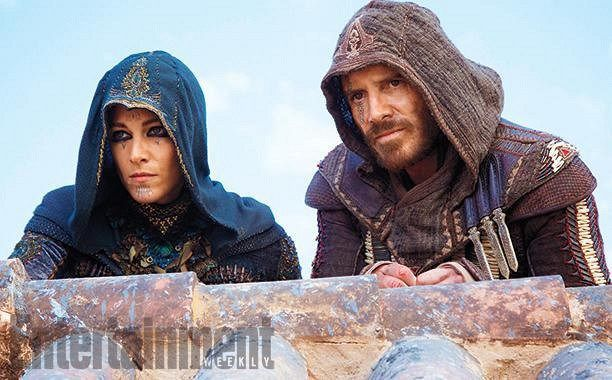 New look of Michael Fassbender in Assassins Creed