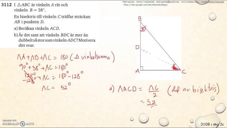 Matematik 5000 2bc VUX - Kapitel 3 - Geometri - 3112