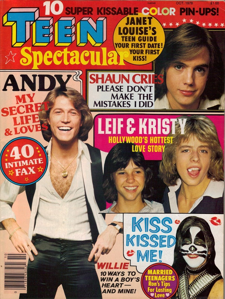 1978 Teen Spectacular - Andy Gibb, Leif Garrett, Shaun Cassidy
