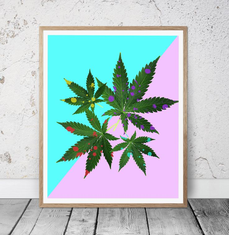 Marijuana Leaf Poster, Marijuana Art, Marijuana Art Print, Marijuana Print, Marijuana Decor, Home Decor, Abstract Printable Art, Gift Idea by MSdesignart on Etsy