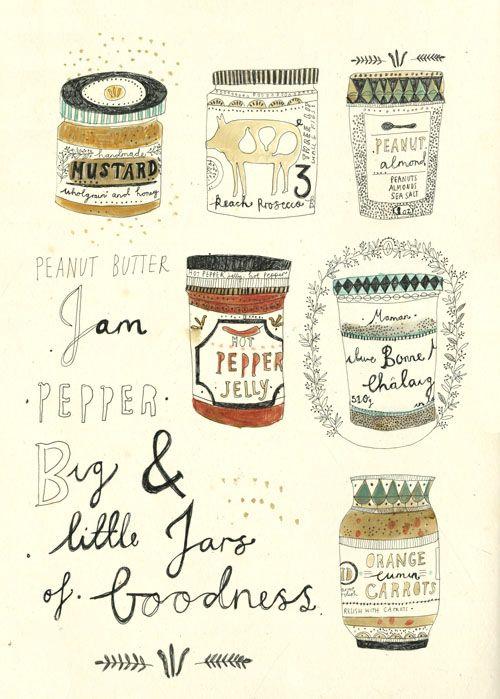 """illustrated by """"katt frank"""" seen on vlinspiratie.blogspot.com"""