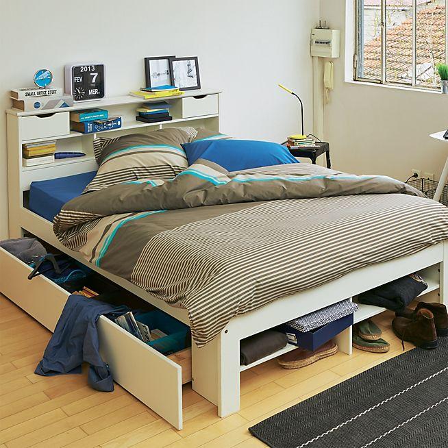 les 25 meilleures id es de la cat gorie lit coffre sur pinterest coffre de lit banc de lit et. Black Bedroom Furniture Sets. Home Design Ideas
