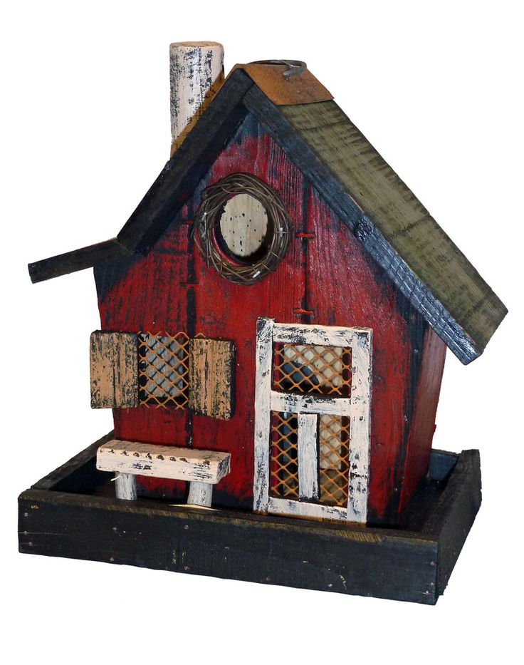Chimney Bird Feeder