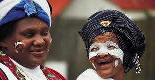 xhosa culture - traditional face paint