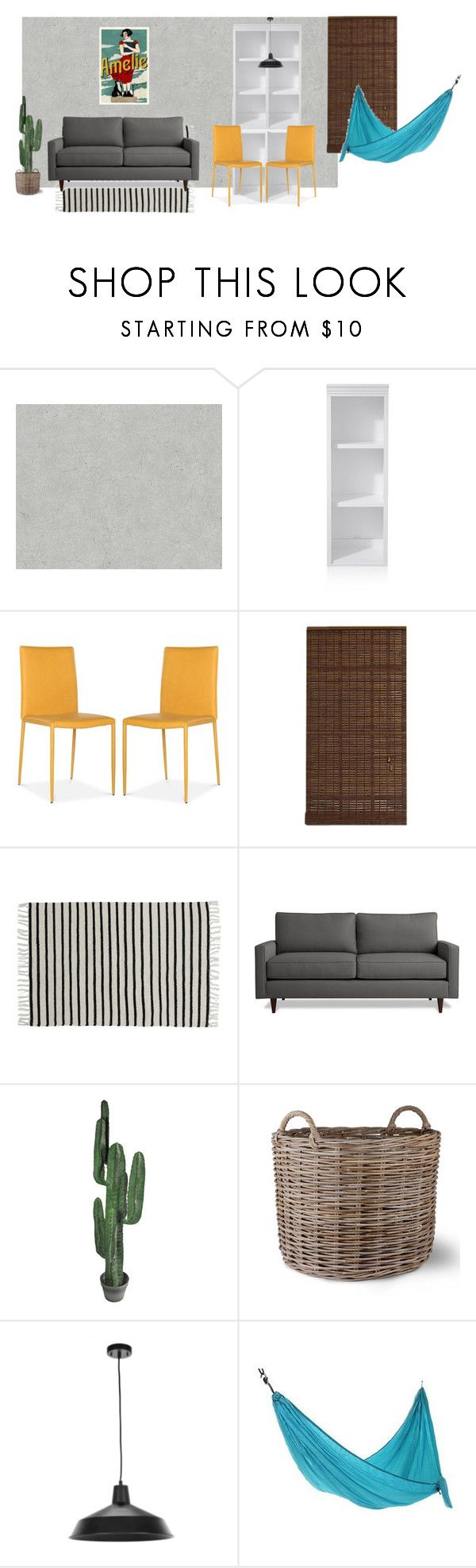 """sala"" by anaunderground on Polyvore featuring interior, interiors, interior design, casa, home decor, interior decorating, Crate and Barrel, Radiance, Liberty e Abigail Ahern"