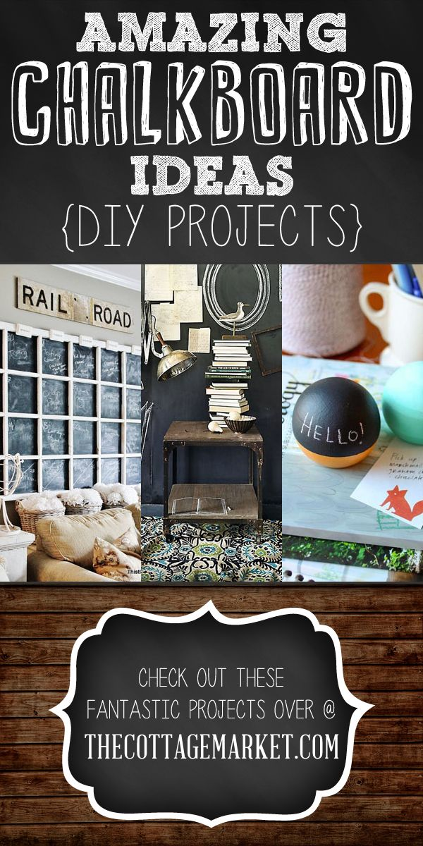 amazing chalkboard ideas diy projects
