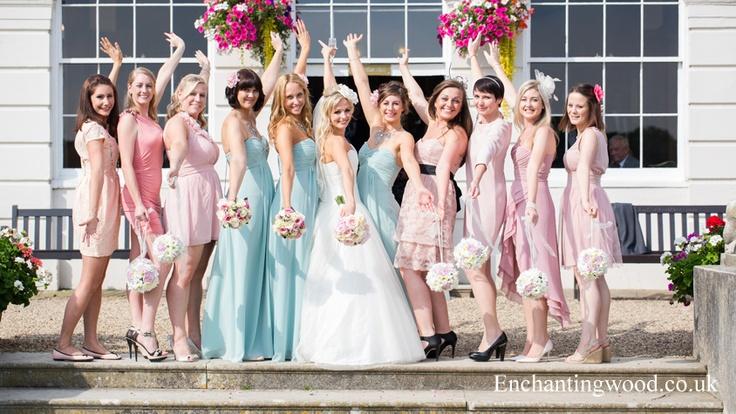 #GosfieldHall Bridesmaids