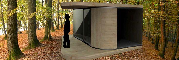 Prototipo de bungalow de madera #arquitectura #bungalows #madera