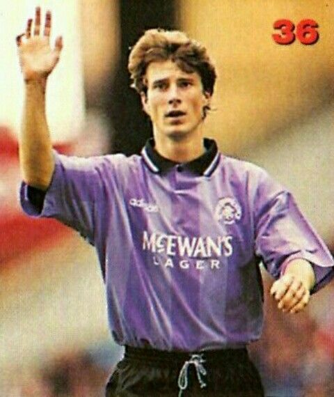 Brian Laudrup of Rangers in 1995.