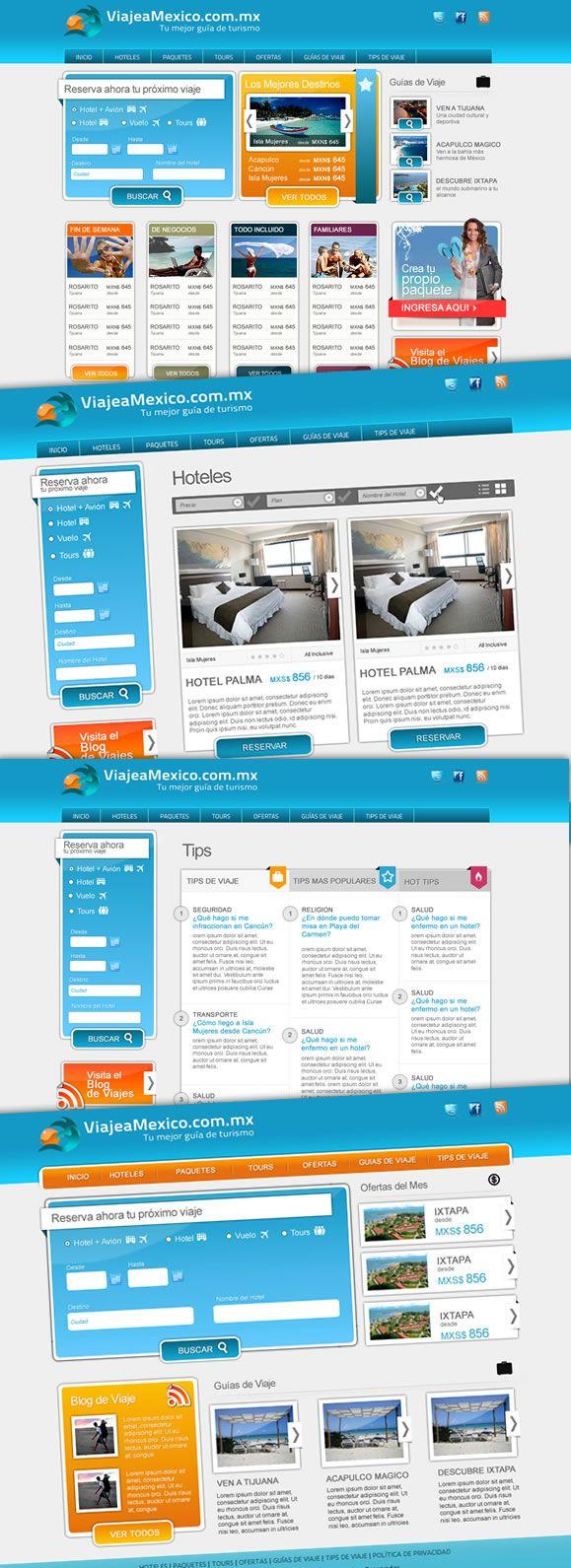 Viaje a México.com.mx : Lanzamiento Website