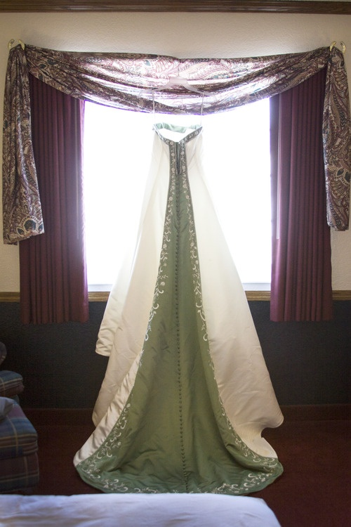 Shea Studio Beautiful, Clover Green, Wedding Dress, Alfred Angelo, Iowa