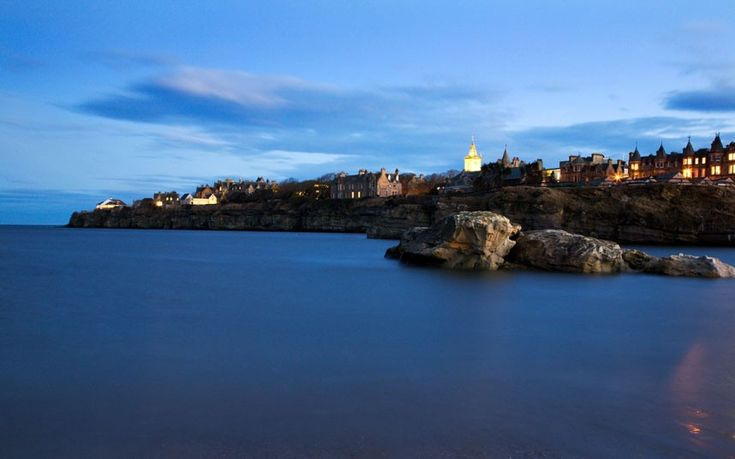 With its stunning ancient buildings and dramatic mist-shrouded coastline, St Andrews University was a perhaps unsurprising setting for everyone's favourite Royal romance.  Picture: Alamy