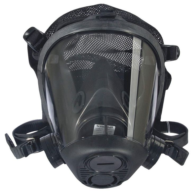 Anti-Ebola Wear, Just to be safe SURVIVAIR Tactical Gas Mask,Medium,Mesh Harness - Gas Masks - 22RP51|763100 - Grainger Industrial Supply