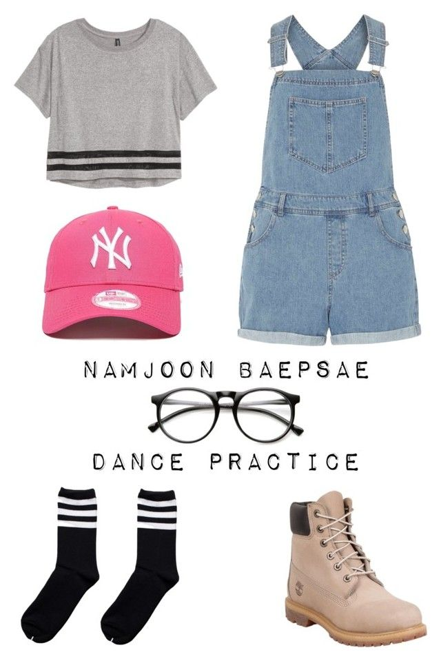 BTS | 뱁새 Dance Practice | Rap Monster by tuasofia on Polyvore