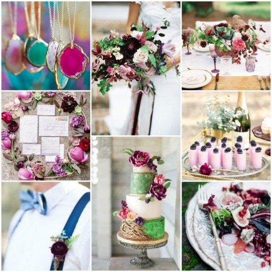 Jewel Tone Wedding Inspiration http://www.poppedweddings.com.au/jewel-tone-wedding-inspiration/