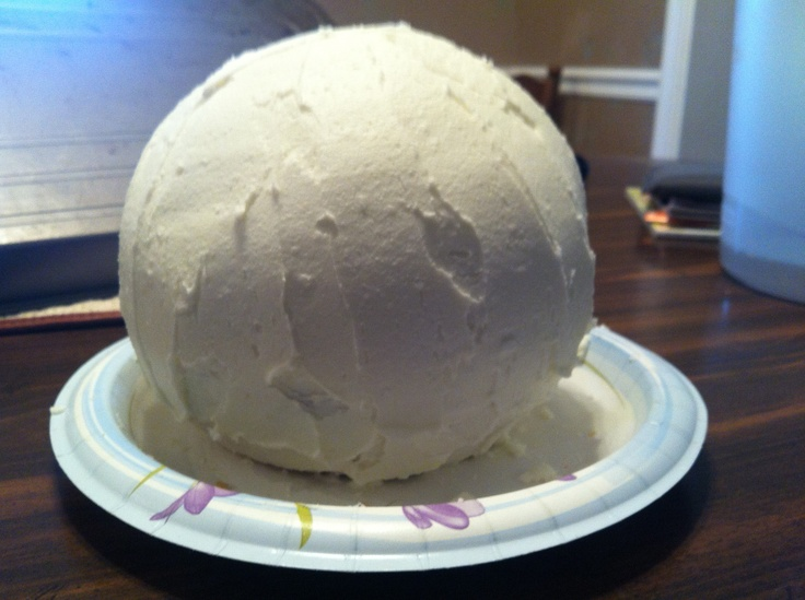 how to make sphere wedding cakes