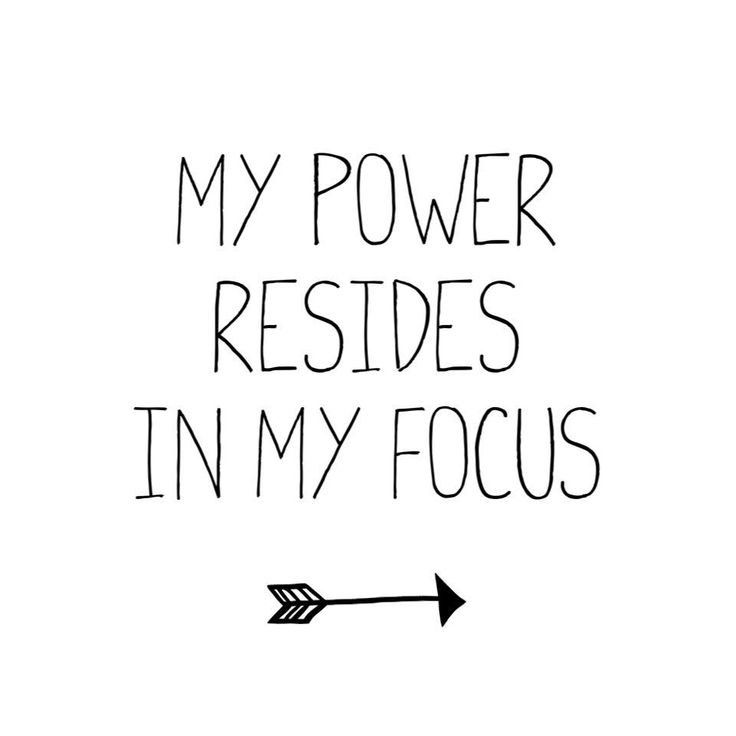 Your focus has incredible power. It has the power to release stress, to welcome in happiness and to shift an anxious internal state into a calm one.