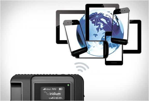 Iridium GO is an essential piece of equipment for any globe-trotting adventurer that wants to stay connected to the rest of the world. The compact, rugged and portable unit ensures you´ll have wi-fi any place on earth, whether you in the middle of th